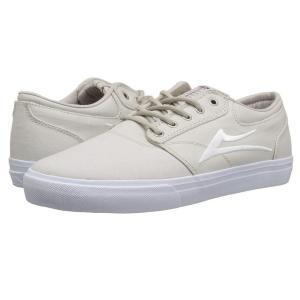 ラカイ Lakai メンズ シューズ・靴 Griffin Cream Canvas|fermart-shoes