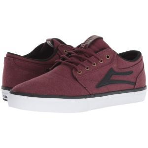 ラカイ Lakai メンズ スニーカー シューズ・靴 Griffin Burgundy Textile|fermart-shoes