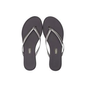ティキーズ レディース ビーチサンダル シューズ・靴 Flip-Flop-Duos Silver Showers|fermart-shoes