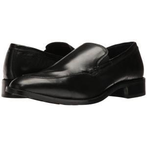 コールハーン メンズ ローファー シューズ・靴 Lenox Hill Venetian Black Nappa Leather fermart-shoes