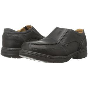 ティンバーランド メンズ スリッポン・フラット シューズ・靴 Branston Alloy Toe Slip On ESD Black|fermart-shoes