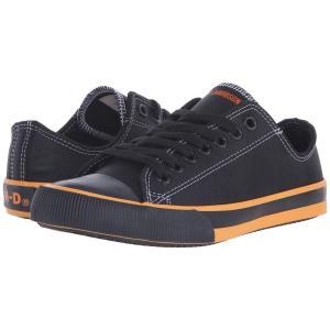 ハーレーダビッドソン レディース スニーカー シューズ・靴 Zia Black/Orange|fermart-shoes