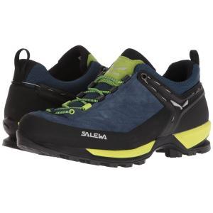 サレワ メンズ スニーカー シューズ・靴 Mountain Trainer Poseidon/Sulphur Spring|fermart-shoes
