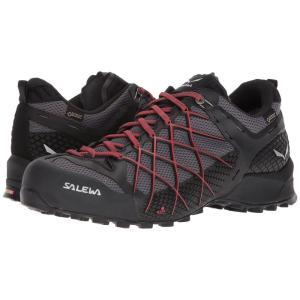 サレワ メンズ スニーカー シューズ・靴 Wildfire GTX Black Out/Bergot|fermart-shoes