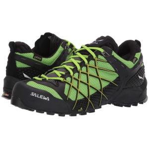 サレワ SALEWA メンズ スニーカー シューズ・靴 Wildfire GTX Black Out/Fluo Yellow|fermart-shoes