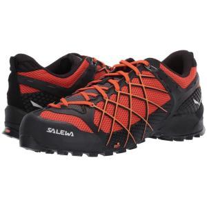 サレワ SALEWA メンズ スニーカー シューズ・靴 Wildfire Black Out/Orange Popsicle|fermart-shoes