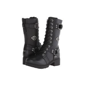 ハーレーダビッドソン レディース ブーツ シューズ・靴 Eda Black|fermart-shoes