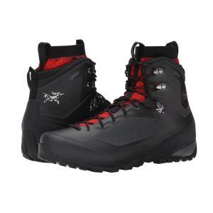アークテリクス メンズ シューズ・靴 ハイキング・登山 Bora2 Mid Black/Cajun|fermart-shoes