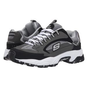 スケッチャーズ メンズ スニーカー シューズ・靴 Stamina Cutback Charcoal/Black|fermart-shoes
