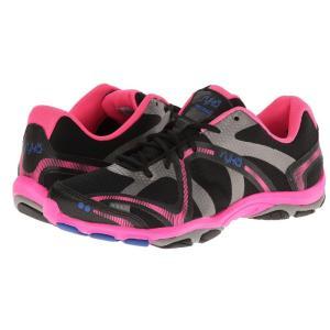 ライカ レディース スニーカー シューズ・靴 Influence Black/Atomic Pink/Royal Blue/Forge Grey|fermart-shoes