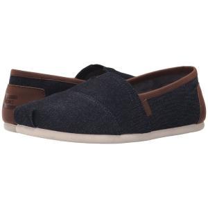 トムズ メンズ ローファー シューズ・靴 Seasonal Classics Dark Denim 2|fermart-shoes