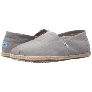 トムズ メンズ ローファー シューズ・靴 Seasonal Classics Grey Linen fermart-shoes