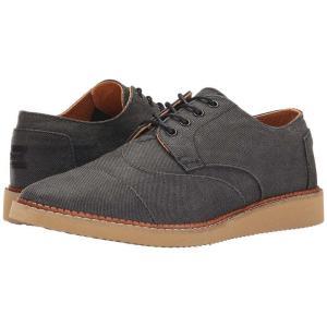 トムズ メンズ 革靴・ビジネスシューズ シューズ・靴 Brogue Ash Aviator Twill fermart-shoes