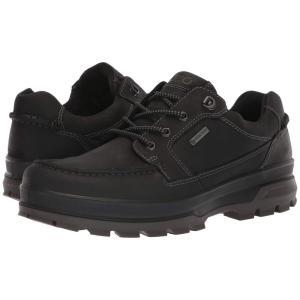 エコー ECCO Sport メンズ スニーカー シューズ・靴 Rugged Track GTX Moc Tie Black|fermart-shoes