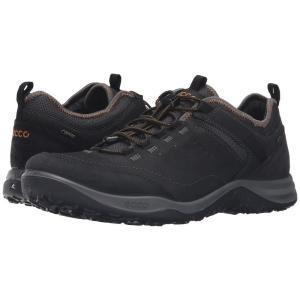 エコー メンズ スニーカー シューズ・靴 Espinho GTX Black/Black|fermart-shoes