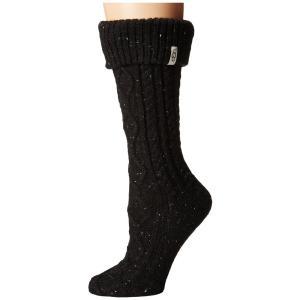 アグ レディース ブーツ シューズ・靴 Shaye Tall Rain Boot Socks Bla...