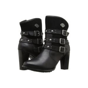 ハーレーダビッドソン レディース ブーツ シューズ・靴 Abbey Black|fermart-shoes