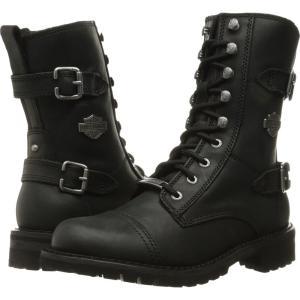 ハーレーダビッドソン レディース ブーツ シューズ・靴 Balsa Black|fermart-shoes