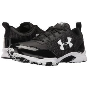 アンダーアーマー メンズ スニーカー シューズ・靴 UA Ultimate Turf Trainer Black/Black|fermart-shoes