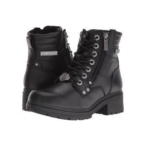 ハーレーダビッドソン レディース ブーツ シューズ・靴 Inman Mills Black|fermart-shoes