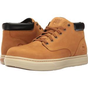 ティンバーランド メンズ スニーカー シューズ・靴 Disruptor Alloy Safety Toe EH Chukka Wheat Nubuck|fermart-shoes