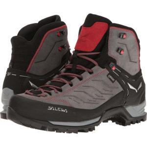 サレワ メンズ ブーツ シューズ・靴 Mountain Trainer Mid GTX Charcoal/Papavero|fermart-shoes