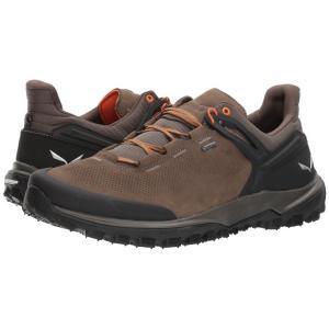 サレワ メンズ スニーカー シューズ・靴 Wander Hiker GTX Walnut/New Cumin|fermart-shoes