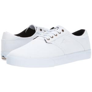 ラカイ メンズ スニーカー シューズ・靴 Porter White/White Canvas|fermart-shoes