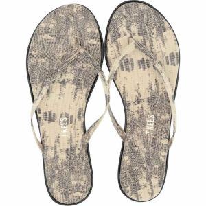 ティキーズ TKEES レディース ビーチサンダル シューズ・靴 Studio Exotic Milk Snake|fermart-shoes