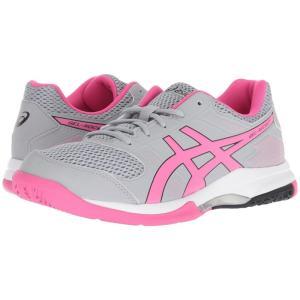 アシックス ASICS レディース シューズ・靴 バレーボール Gel-Rocket 8 Mid Grey/Pink Glo|fermart-shoes