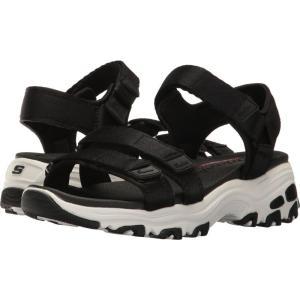 スケッチャーズ レディース サンダル・ミュール シューズ・靴 D'Lites - Fresh Catch Black|fermart-shoes