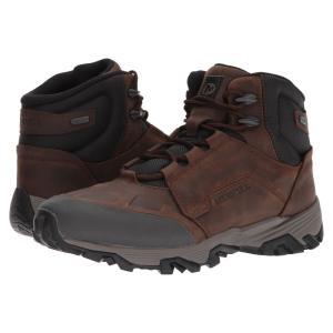 メレル メンズ シューズ・靴 ハイキング・登山 Coldpack Ice+ Mid Waterproof Clay|fermart-shoes