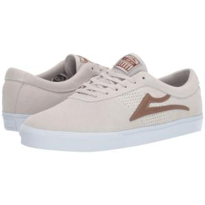 ラカイ Lakai メンズ シューズ・靴 Sheffield White/Bronze Suede|fermart-shoes