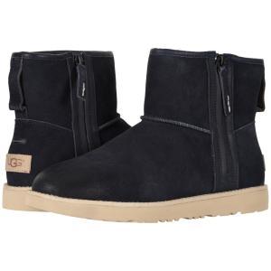 アグ UGG メンズ ブーツ シューズ・靴 Classic Mini Zip Waterproof True Navy|fermart-shoes