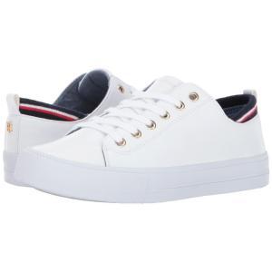 トミー ヒルフィガー レディース スニーカー シューズ・靴 Two White PU|fermart-shoes