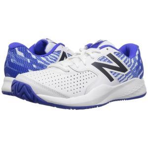 ニューバランス メンズ シューズ・靴 テニス MCH696v3 White/Royal fermart-shoes