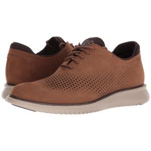 コールハーン メンズ スニーカー シューズ・靴 2 Zerogrand LSR Wing Bourbon Nubuck/Cobblestone|fermart-shoes