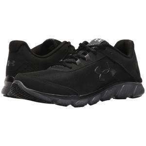 アンダーアーマー メンズ シューズ・靴 ランニング・ウォーキング UA Micro G Assert 7 Black/Rhino Gray/Rhino Gray|fermart-shoes