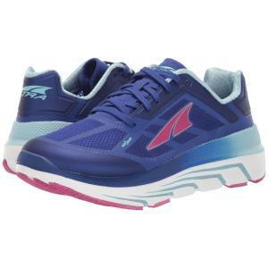 アルトラ Altra Footwear レディース スニーカー シューズ・靴 Duo Blue/Coral|fermart-shoes