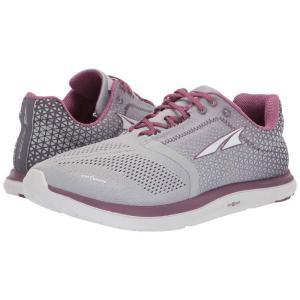 アルトラ Altra Footwear レディース スニーカー シューズ・靴 Solstice Gray/Plum|fermart-shoes
