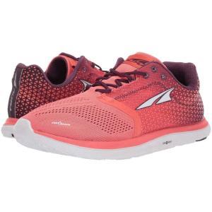 アルトラ Altra Footwear レディース スニーカー シューズ・靴 Solstice Coral|fermart-shoes