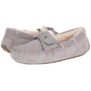 アグ UGG レディース スリッパ シューズ・靴 Dakota Leather Bow Seal|fermart-shoes