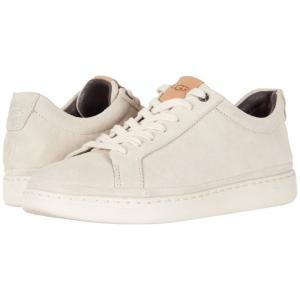 アグ メンズ スニーカー シューズ・靴 Brecken Lace Low White Cap|fermart-shoes