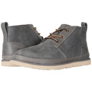 アグ メンズ ブーツ シューズ・靴 Neumel Unlined Leather Charcoal|fermart-shoes