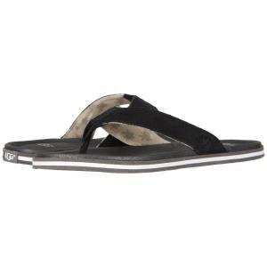 アグ UGG メンズ ビーチサンダル シューズ・靴 Beach Flip Black|fermart-shoes