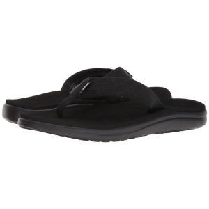 テバ Teva メンズ ビーチサンダル シューズ・靴 Voya Flip Brick Black fermart-shoes