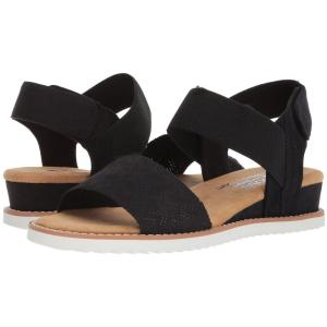 スケッチャーズ BOBS from SKECHERS レディース サンダル・ミュール シューズ・靴 Desert Kiss Black|fermart-shoes