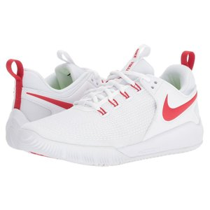 ナイキ Nike レディース シューズ・靴 バレーボール Zoom HyperAce 2 White/University Red|fermart-shoes