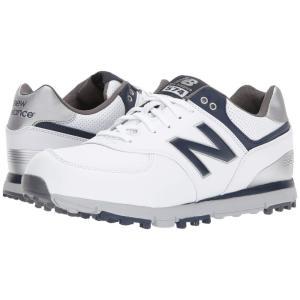 ニューバランス メンズ スニーカー シューズ・靴 NBG574 SL White/Navy|fermart-shoes
