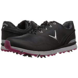 キャロウェイ Callaway レディース スニーカー シューズ・靴 Halo Black|fermart-shoes